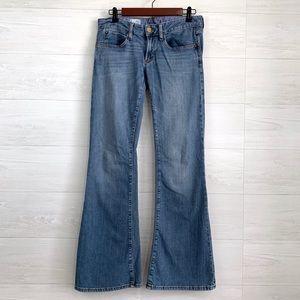 Gap 1969 Vintage Flare Wide Leg Denim Jeans